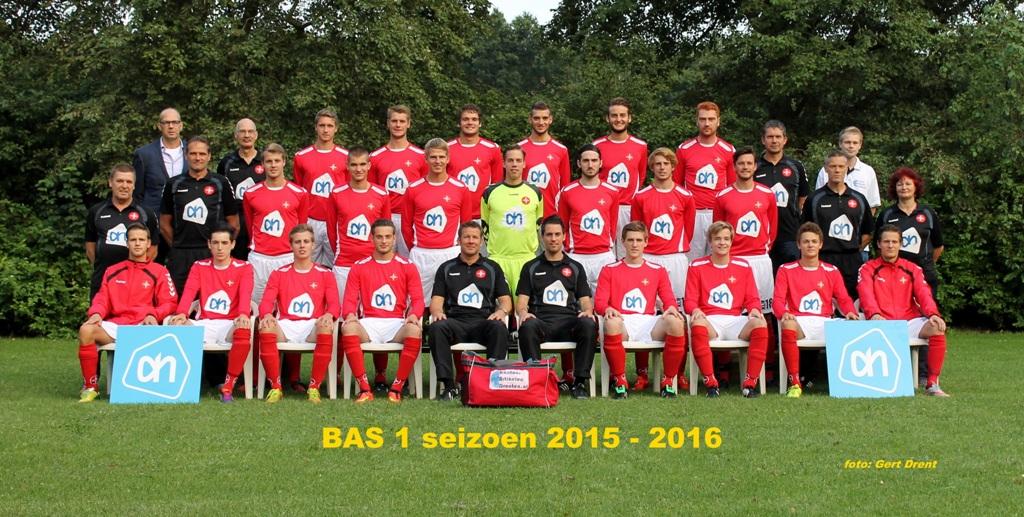 BAS 1 seizoen 2015/2016